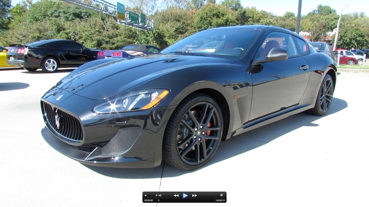 2013 Maserati GranTurismo MC Sport Line Start Up, Exhaust, and In ...