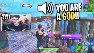 I carried a FAKE SOCCER SKIN and he was AMAZED at how I played! (Fortnite Random Duos)