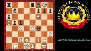 Bobby Fischer's Pawn Sacrifice by IM Valeri Lilov