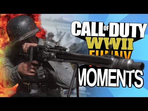 Call of Duty WW2 Funny Moments | Die KRASSESTEN Turn-Ons! (COD WWII Funny Moments - Deutsch German)