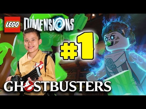 Lego Dimensions GHOSTBUSTERS Story!!! PART 1 Paranormal Beginnings