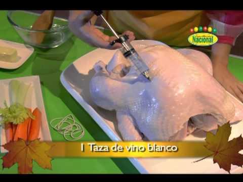 Como inyectar un pavo doovi for Como cocinar un pavo