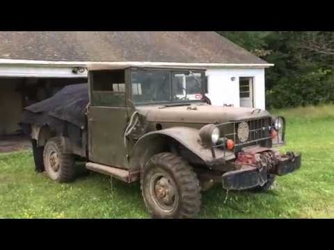 Back to hauling with the M37 - YouTube