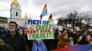 Activists demand Ukraine does more to combat violence against women