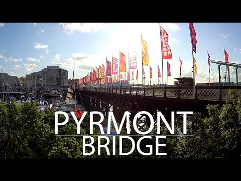 Pyrmont Bridge - Drops #002 :: Canal Brasileirando - Sydney, Austrália