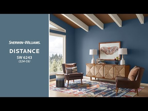 March 2019 Color of the Month: Distance - Sherwin-Williams
