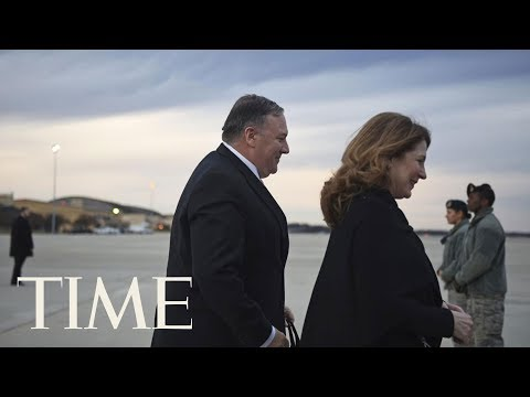 Mike Pompeo Begins A Trip To The Middle East To Ramp Up Pressure On Iran   TIME