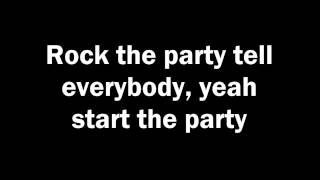 The Blackout - Start The Party (Lyrics)