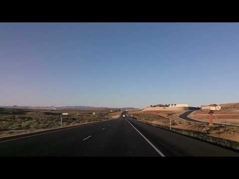 Interstate 15 St. George, Utah to Parowan - Time Lapse Drive