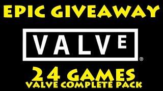 Valve Epic Giveaway - Valve Complete Pack 24 GAMES! [CLOSED]