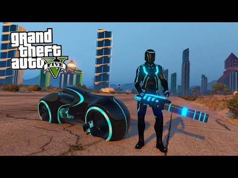 COMO IR PARA O MUNDO DO TRON NO GTA V?!?! (Incrivel)