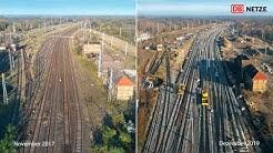 """Modernisierung des Eisenbahnknotens """"Knoten Roßlau/Dessau"""""""