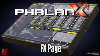Vengeance Producer Suite - Phalanx Tutorial Video: 04 FX Page