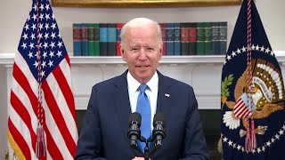 President Joe Biden on fuel concerns: 'Stay strong, help is on the way'