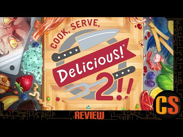 COOK, SERVE, DELICIOUS! 2!! - PS4 REVIEW