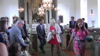 Utgångsmusik. A tribute o Sweden. Karl Gustav kyrka Brudpar  Jenni och Anders