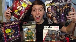 UnBoxing Fresh WWE Figures
