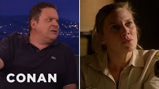 "Jeff Garlin Plugs ""Longmire"" Instead Of  ""The Goldbergs""  - CONAN on TBS"