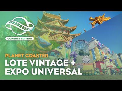 Planet Coaster: Console Edition | Vintage and World's Fair Bundle Trailer
