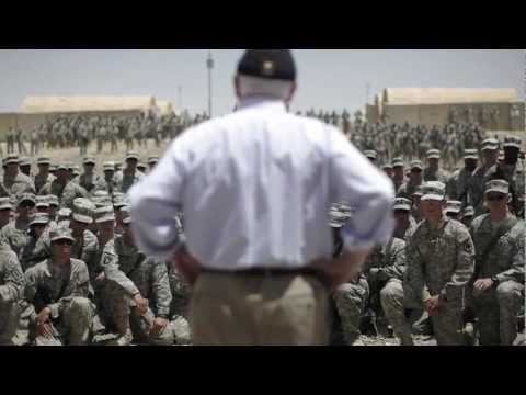 Secretary of Defense Robert Gates - One last time in Afghanistan