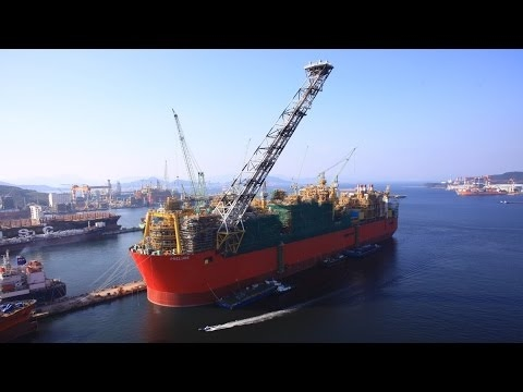 Shell's Prelude FLNG Project in 2016