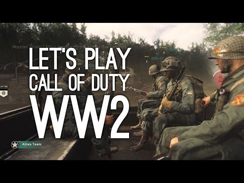 Call of Duty WW2 Gameplay: Call of Duty WW2 Multiplayer Gameplay - Let's Play CoD WW2 at E3 2017