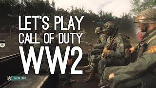 Call of Duty WW2 Gameplay: Call of Duty WW2 Multiplayer Gameplay - Let