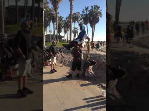 Venice boardwalk California.. Creative Hustlers. One love