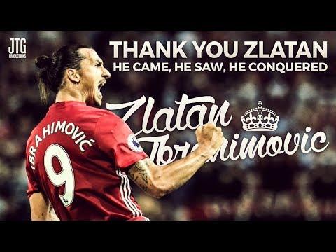 Zlatan Ibrahimovic - Goodbye Manchester United - My Tribute