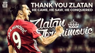 Zlatan Ibrahimovic - Goodbye Manchester United - My Tribute