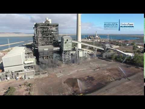 McMahon Services - Northern Power Station East Bunker Felling