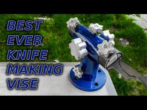 DIY Knife Making Vise