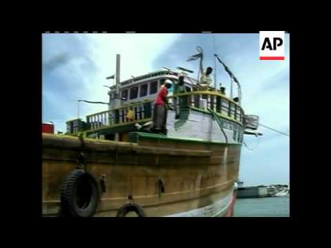 Somali forces rescued a hijacked ship carrying food to this desperately poor country, as a top secur