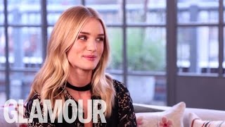 Rosie Huntington-Whiteley talks Beauty and Her Top Secrets | Beauty Talk | Glamour UK
