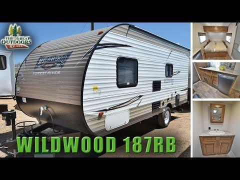 New Travel Trailer 2018 FOREST RIVER WILDWOOD 187RB Colorado RV Dealer