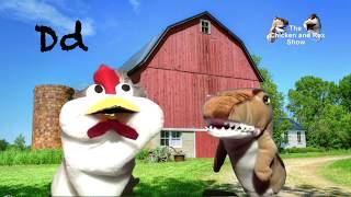Chicken and Rex The LetterD   Best Kids Learning   Alphabet   Letter Videos