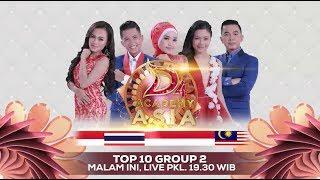 Semakin Memanas Semakin Seru! Saksikan D'academy Asia 4 Top 10 Group 2 Konse