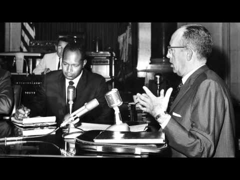 The Watts Riot. Dr. Martin Luther King Jr. and Tom Bradley