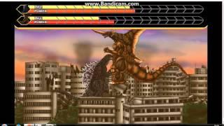 Godzilla Daikaiju Battle Royale:Godzilla 2001 vs Bagan