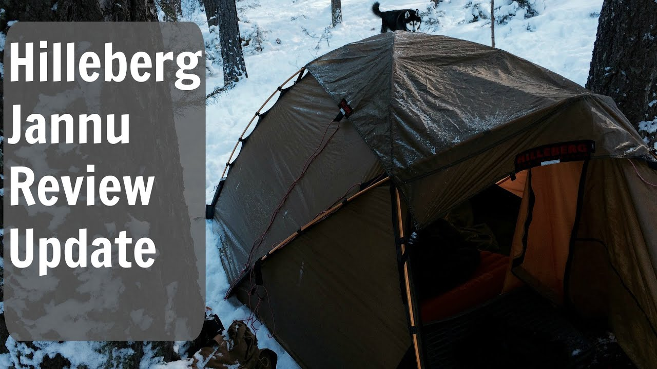 & Hilleberg Jannu Review Update (Winter Camping) - YouTube