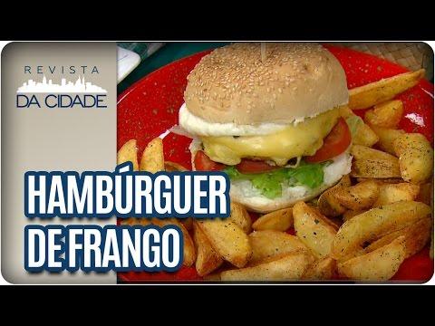 Receita de Hambúrguer de Frango - Revista da Cidade (19/01/17)