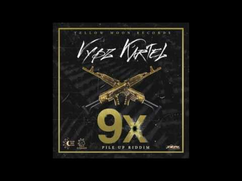 Vybz Kartel - 9X (Raw) [Pile Up Riddim] || October 2016 ||