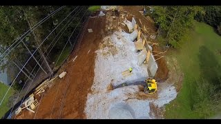 Mill Creek Bridge Replacement: 08-oct-14 Overflight
