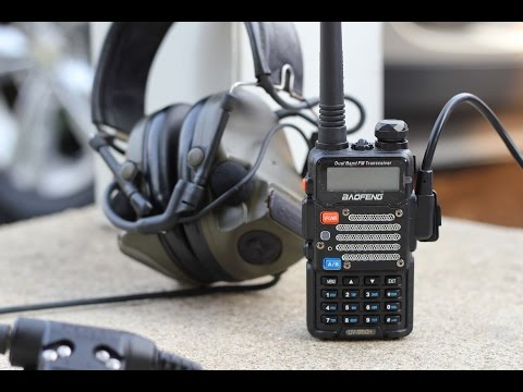 Communications Setup Overview (Comtac IIIs, U-94, Baofeng UV5R)
