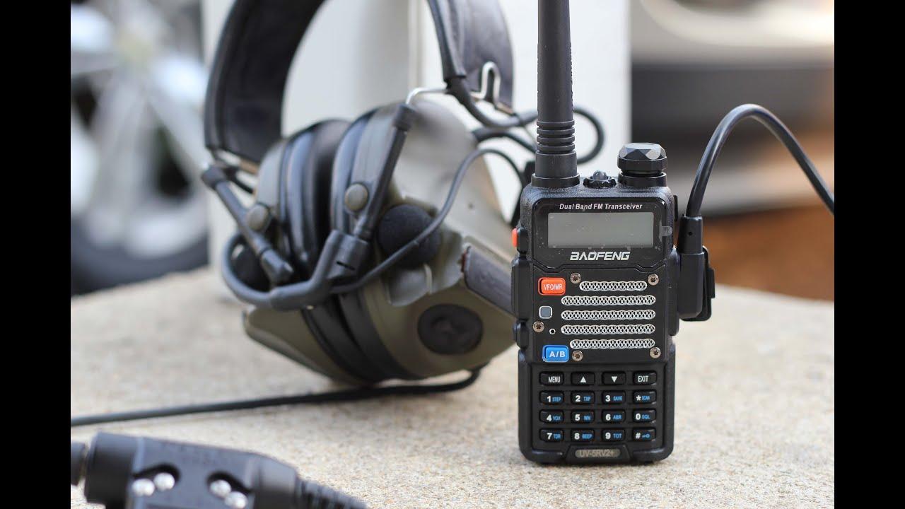Communications Setup Overview (Comtac IIIs, U-94, Baofeng UV5R ... on tactical ptt, nexus ptt, sordin ptt, ztac ptt,
