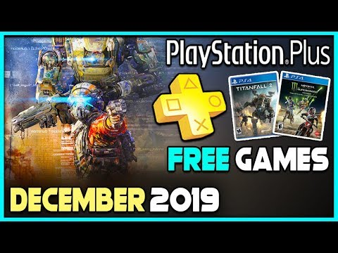 FREE PLAYSTATION PLUS GAMES DECEMBER 2019 REVEALED - NOT A GREAT MONTH!