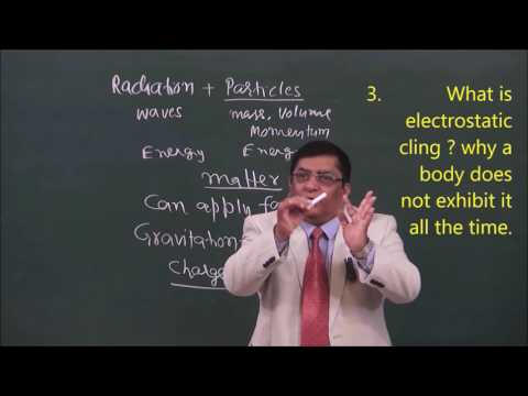 Phy-XII-1-1Electric Charge -1(2017) Pradeep Kshetrapal Physics channel