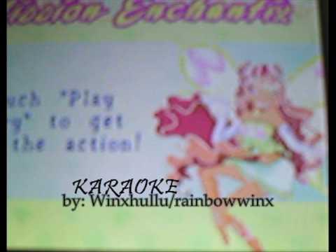 Winx club: Mission Enchantix  *karaoke opening!*