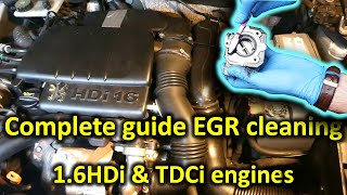 The complete guide to EGR cleaning (1.6HDi and 1.6TDCi engines)
