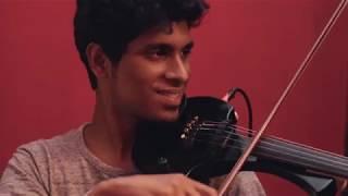 Mizhiyil Ninnum | Mayaanadhi | Cover Song | Violin |